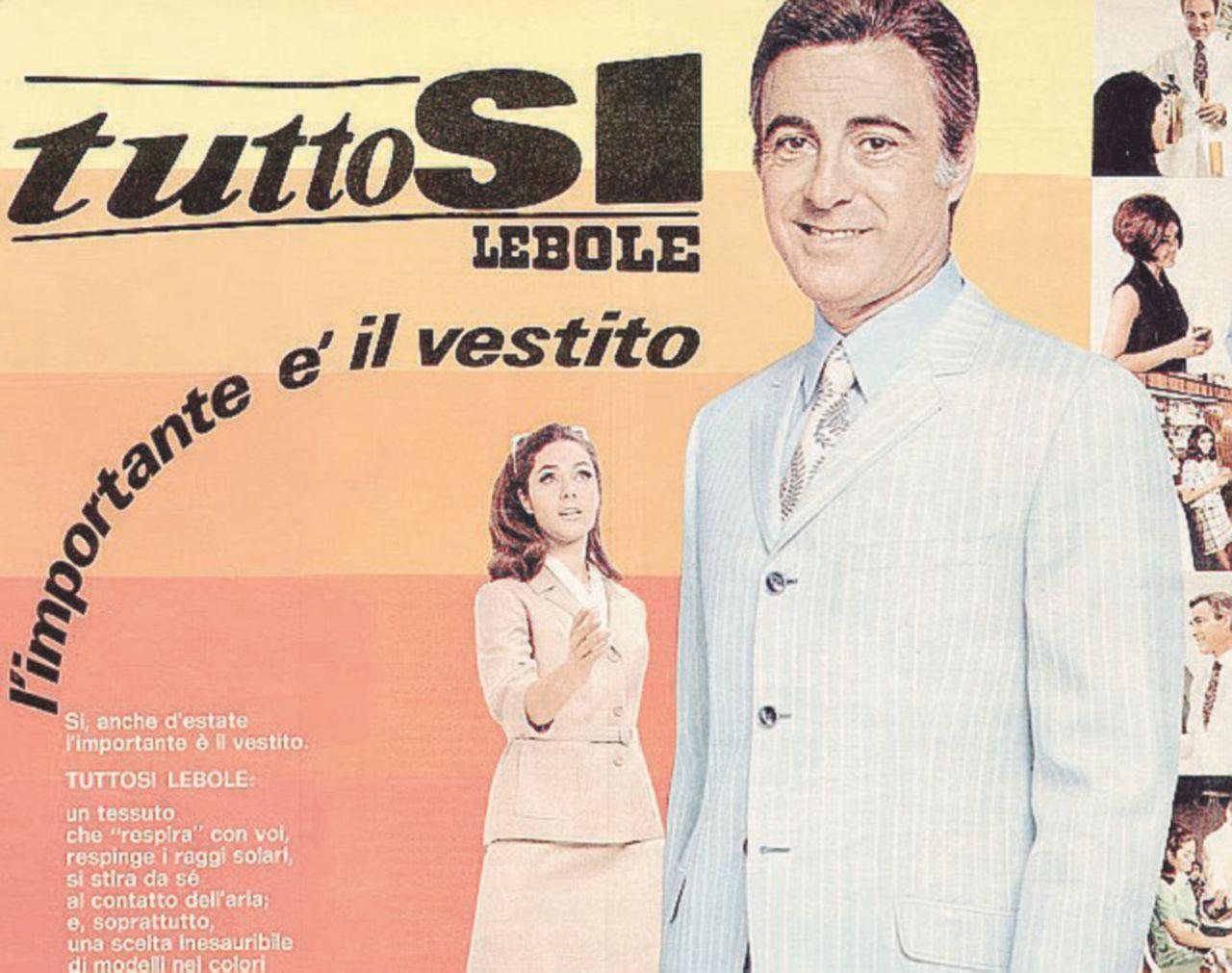 Lebole, l'uomo che vestì l'Italia (e Gelli)