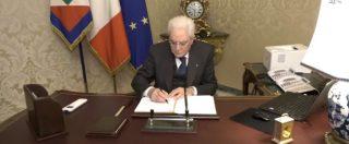 Elezioni, Mattarella scioglie le Camere. Il consiglio dei ministri fissa la data del voto: si va alle urne il 4 marzo