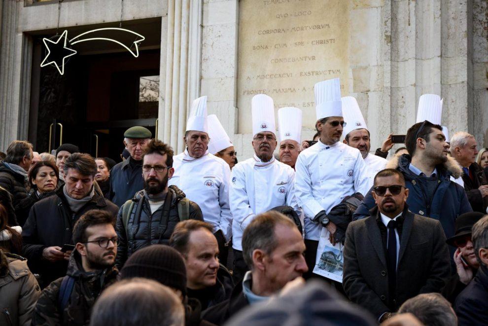 Milano, Funerale di Gualtiero Marchesi