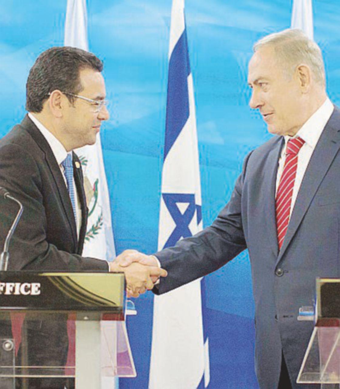 Armi da Tel Aviv, il Guatemala ringrazia