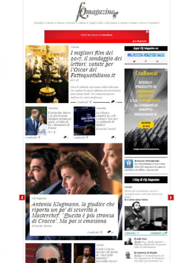 FQMagazine, ecco gli articoli più letti (e più belli, secondo noi) del rotocalco del Fatto.it nel 2017