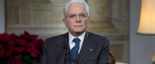 """Mattarella, il discorso di fine anno: """"I partiti hanno il dovere di programmi realistici. Fiducia nei giovani al voto"""""""