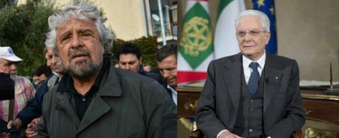 Discorso di fine 2017, Sergio Mattarella e Beppe Grillo hanno visioni opposte sul futuro del lavoro