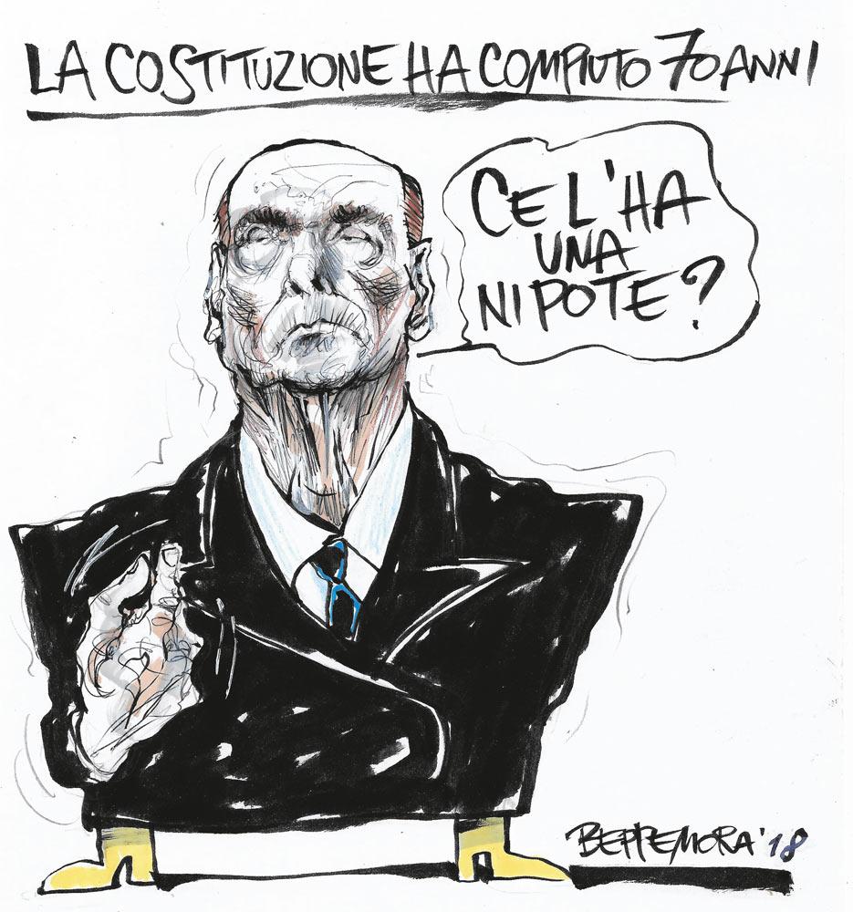 La vignetta di Beppe Mora