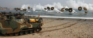 Corea, Trump rinvia l'esercitazione militare con Seul prevista dopo i Giochi