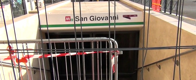 Roma, a rischio l'apertura della stazione San Giovanni della metro C. Treni ogni 16 minuti e '502 questioni tecniche irrisolte'