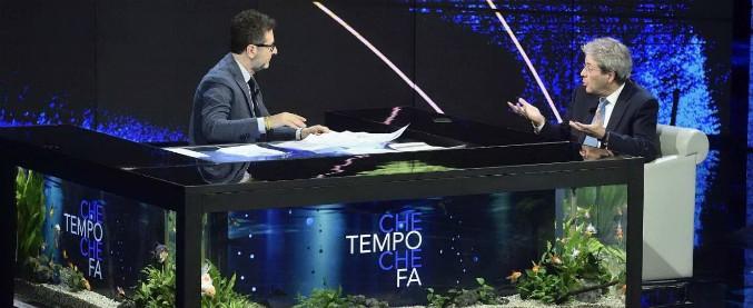 """Elezioni, Gentiloni: """"L'Italia non giochi al Rischiatutto con forze che non sanno governare. Pd con squadra più credibile"""""""