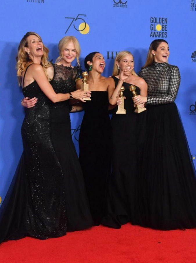 Golden Globes, McDonagh trionfa. Ma protagonista assoluta è la denuncia femminile contro le molestie