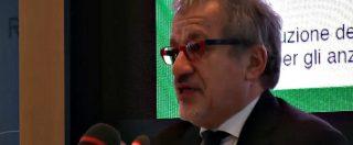 """Elezioni, Maroni: """"Non mi ricandido in regione Lombardia. Politiche? Sono a disposizione"""""""