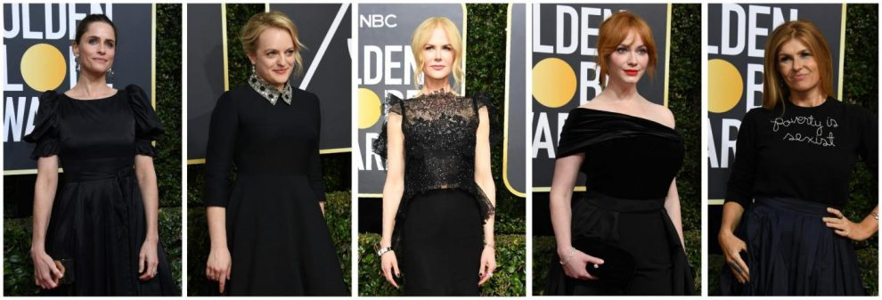 Amanda Peet, Elisabeth Moss, Nicole Kidman, Christina Henricks and Connie Britton