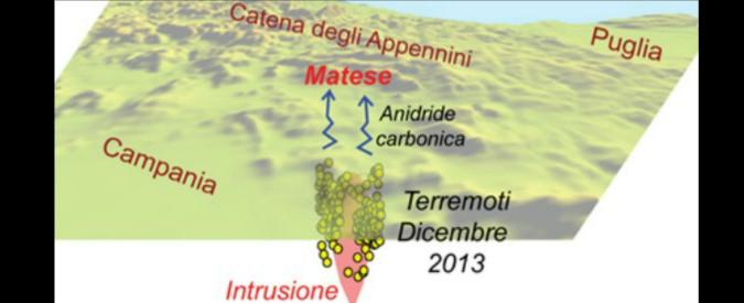 """Terremoti, scoperta sorgente di magma sotto l'Appennino. """"Può generare sismi"""""""