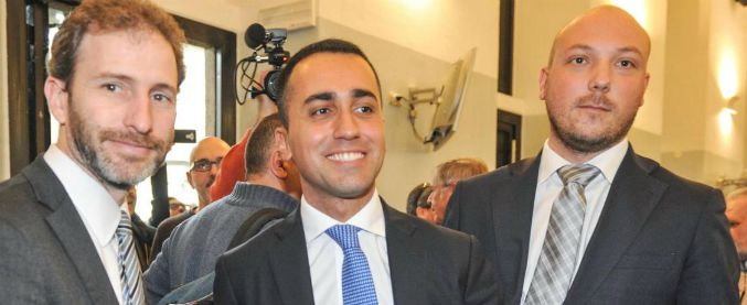 """Di Maio e Casaleggio a Milano (di nuovo) dagli imprenditori: """"Aboliremo 400 leggi. Sul sito tutti potranno proporre quali"""""""