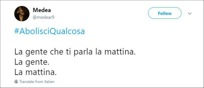 #AbolisciQualcosa, sui social spopola la parodia della campagna elettorale. Ecco i suggerimenti della rete