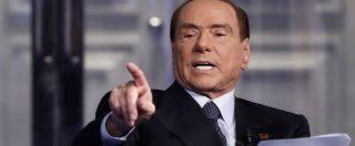 """Elezioni, Berlusconi: """"Sarà Forza Italia a indicare il premier. Debito pubblico? Per abbatterlo serve piano di privatizzazioni"""""""