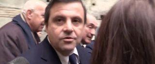 """Renzi-De Benedetti: Delrio zitto, Calenda fugge e Giachetti: """"L'editore rivendica Jobs act? Come un milione di lavoratori"""""""