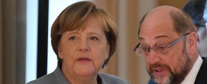Germania, svolta nelle trattative: accordo per il governo di Grande coalizione tra Cdu della Merkel e socialdemocratici
