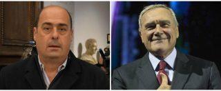 """Elezioni Lazio, l'annuncio di Piero Grasso: """"Liberi e Uguali sosterrà la candidatura di Nicola Zingaretti a governatore"""""""