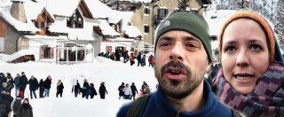 """Val Susa, No border in marcia sulla neve: """"Migranti rischiano la vita qui sulle montagne, ospitalità è nostro dovere"""""""