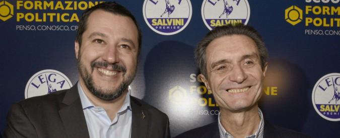 """Lombardia, Salvini difende Fontana: """"Razza bianca a rischio? Siamo sotto attacco"""". Il Pd: """"Vergogna razzista"""""""