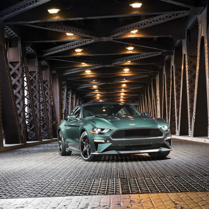 """Detroit 2018, Ford omaggia Steve McQueen con una versione speciale della Mustang: la """"Bullitt"""" – FOTO"""