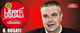 """Elezioni Lombardia, Rosati (LeU): """"Fontana? Un razzista, ritiri la sua candidatura. M5s? Non va demonizzato"""""""