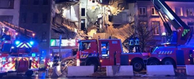 """Anversa, esplode palazzina sopra pizzeria italiana: 2 morti e 14 feriti. """"Non è terrorismo"""""""