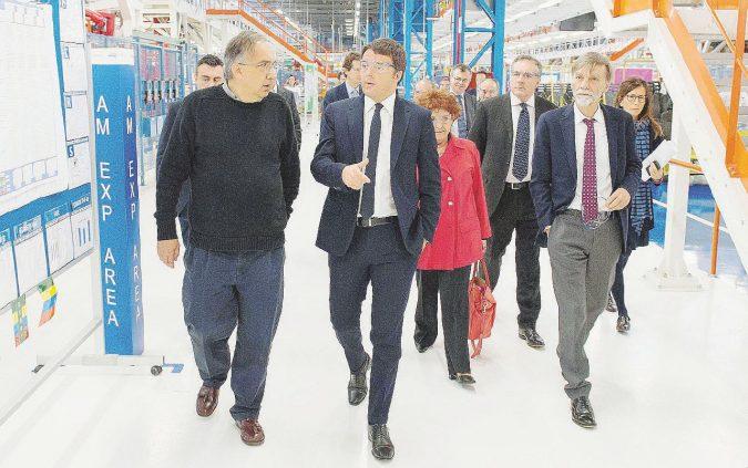 Marchionne scarica Renzi e gli operai italiani di Fca