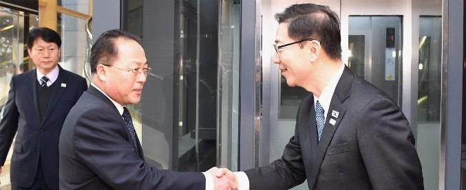 Olimpiadi invernali, Nord e Sud Corea sfileranno sotto un'unica bandiera