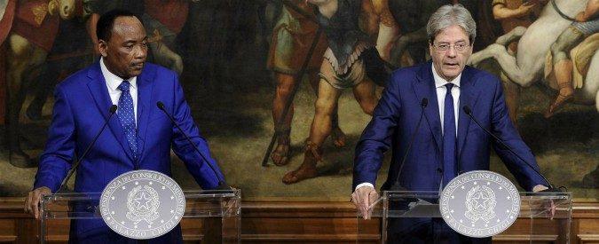 L'Italia non va in Niger solo per arginare il flusso dei migranti