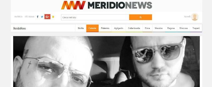 Catania, due parenti di esponenti mafiosi nel servizio sui cantanti neomelodici: minacce alla redazione di Meridionews