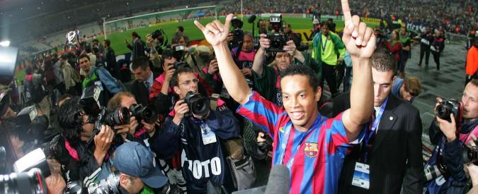 Ronaldinho dice basta: con lui il calcio ha riscoperto che si può vincere col sorriso e la fantasia