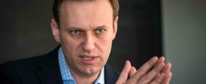 Navalny: 'Irritanti legami Putin-Lega-M5s Italia non sia amica di oligarchi corrotti'