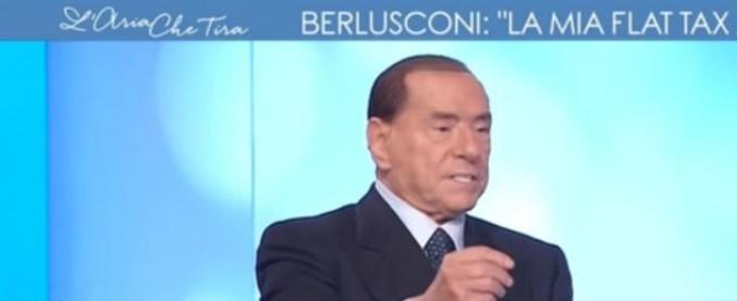 """Elezioni, Berlusconi: """"Se Strasburgo cancella la mia decadenza, vado a Palazzo Chigi. E Salvini al ministero dell'Interno"""""""