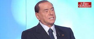 """Elezioni, Berlusconi: """"Se vinciamo Salvini ministro dell'Interno. Ho nome autorevolissimo come premier"""""""