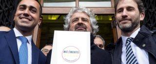 """Grillo deposita simbolo M5s (di cui non è più proprietario): """"Alleanze con chi ci sta? Domande senza senso"""""""