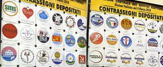 """Elezioni politiche 2018, la carica dei simboli: da MTNPP a """"Free flights"""". Quel che vedremo (ma anche no) sulle schede"""