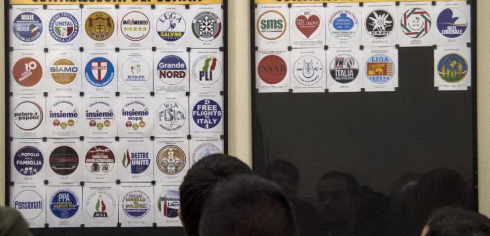 Elezioni politiche 2018, la carica dei simboli: da MTNPP a