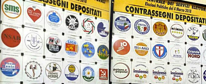 Elezioni, prima scrematura del Viminale: ammesso 75 simboli su 103. Tra i bocciati La Margherita, in sospeso Dc e Msi
