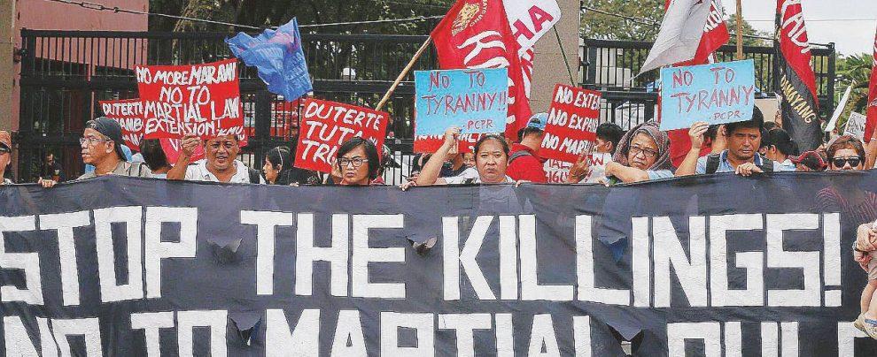 Duterte, l'uomo che volle farsi dittatore a colpi di legge marziale