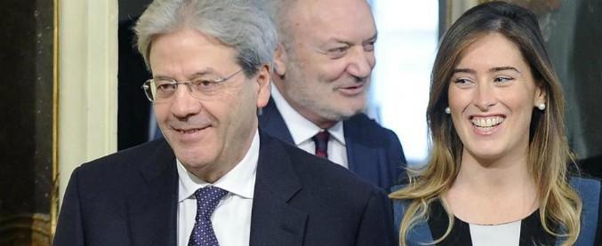 """Consiglio di Stato, le tre nomine del premier Gentiloni. M5s: """"C'è una stretta collaboratrice della Boschi"""""""