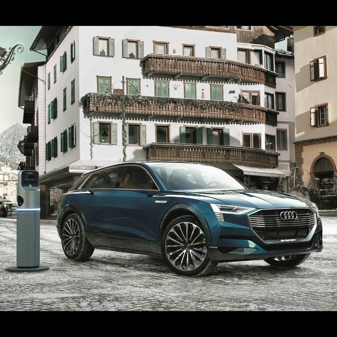 Audi ed Enel, insieme a Cortina D'Ampezzo per la mobilità elettrica