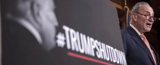 """Shutdown, c'è l'accordo. Dem: """"Votiamo la fine e discutiamo subito dei Dreamers"""""""