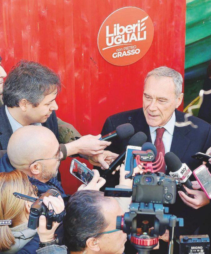 """Liberi tutti il 5 marzo: """"Grasso non tira"""" e non si va oltre il 6%"""