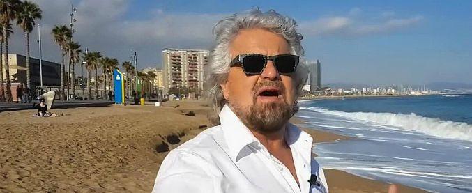 """Beppe Grillo, online il nuovo blog staccato dal M5s: """"Torniamo a come era"""". """"Non dovete essere tutti sulle mie spalle"""""""
