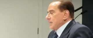 """Elezioni, Berlusconi: """"Avremo maggioranza sia al Senato che alla Camera. Grandi coalizioni impossibili"""""""