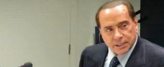 """Elezioni, Berlusconi: """"La sfida è tra destra e M5S. La sinistra è una scatola vuota senza progetti"""""""