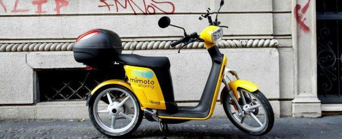 far partire scooter con batteria