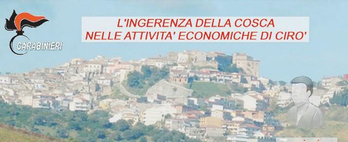 """'Ndrangheta, il pentito: """"Tutti i sindaci di Cirò Marina hanno sempre avuto il nostro appoggio. E poi ci regalavano case"""""""
