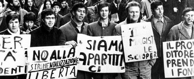 I 'Sogni di carta' della generazione del '68 sono caduti a terra. Ma il mondo è ancora giovane