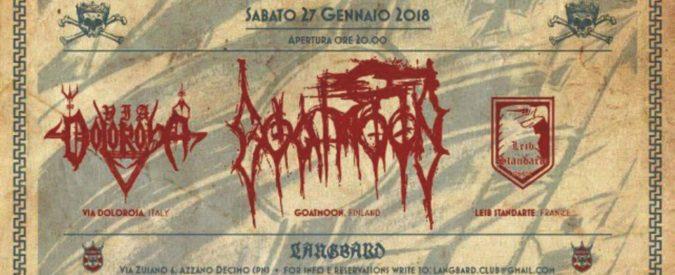 Pordenone, il concerto pro-Olocausto delle band nazirock nel Giorno della Memoria